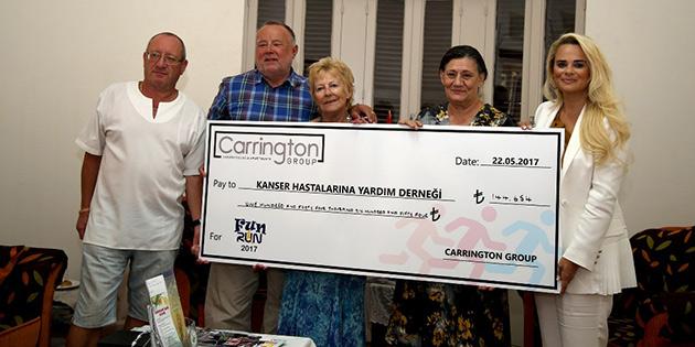 Kanser Hastalarına Yardım Derneği'ne 145 bin TL bağış