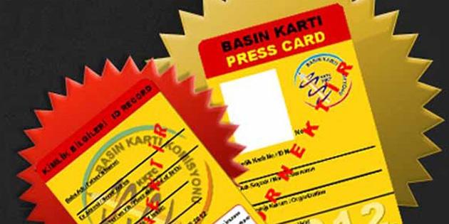 Basın kartı ara dönem başvuruları başlıyor