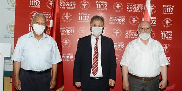 Sağlık Bakanı Pilli, Güzelyurt Sağlıklı Onurlu Yaşam Derneği'ni kabul etti