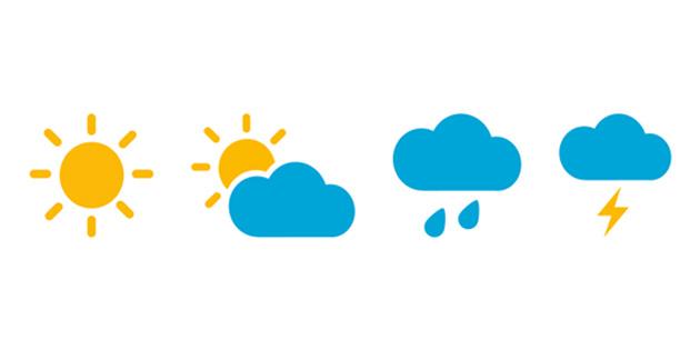 Arife ve bayram yağmurlu