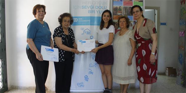 Kıbrıs Türk Kadınlar Birliği'nden SOS'e katkı