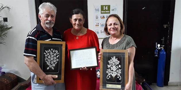 Avustralya Kıbrıs Türk İslam Derneği ve Avustralya Türk Radyosu'ndan KHYD'ye bağış
