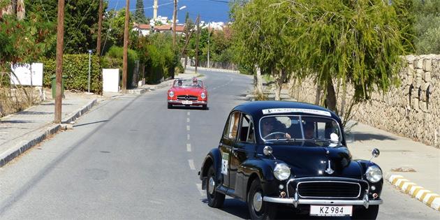 İstanbul'daki klasik otomobil festivali'ne KKTC'den de katılım olacak