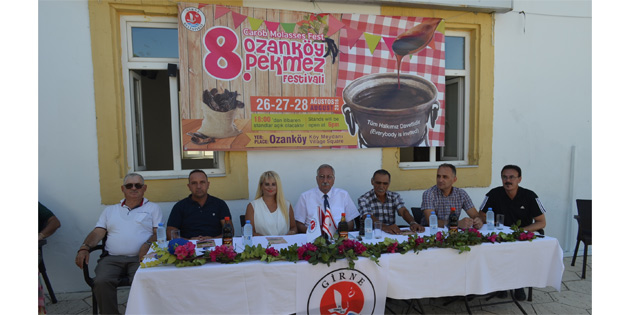 Ozank�y Pekmez Festivali Cuma G�n� Ba�l�yor