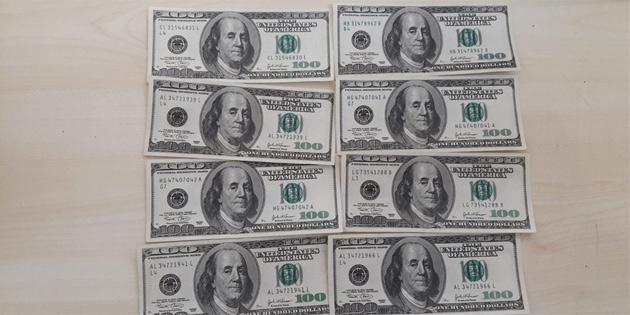 Güzelyurt'ta tedavüle sahte 100'lük ABD Doları sürüldü