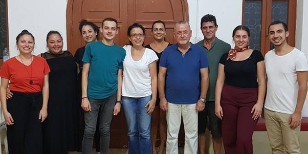 Gençlik Merkezi Birliği Başkanlığına Fatoş Giritli seçildi