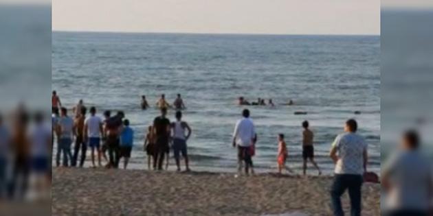 Bir Rum Bedis Plajı'nda boğularak yaşamını yitirdi