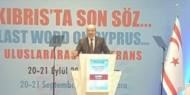 """""""Kıbrıs'ta Son Söz"""" başlıklı uluslararası konferansın sonuç bildirisi yayımlandı"""