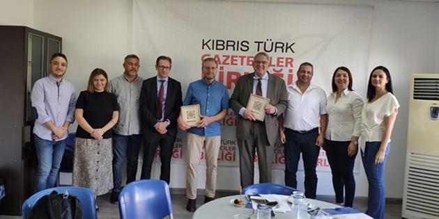 KTGB ile İsveç'ten yetkililer, gazeteciler için iş birliği olanaklarını araştırıyor