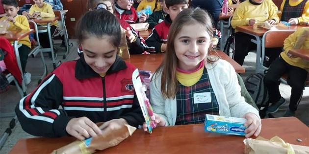 İskele'de Belediye ve klinik iş birliğiyle öğrencilere ağız ve diş sağlığı eğitimi