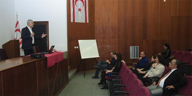 """Kıbrıs Türk Tabipleri Odası'nın """"Etiket okuma; ne tükettiğimizi biliyor muyuz?"""" başlıklı konferansı bugün gerçekleştirildi"""