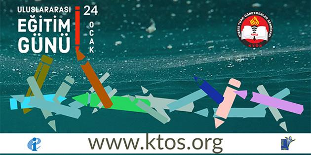 KTÖS Uluslararası Eğitim Günü'nde SOS Çocukköyü işbirliğinde çalıştay düzenliyor