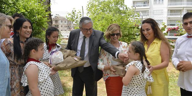 Özel gereksinimli çocuklar, Cumhurbaşkanlığı'nı ziyaret etti