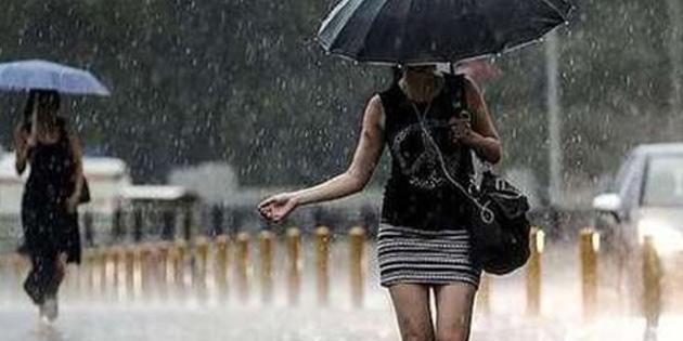 Bugün ve yarın yer yer sağanak yağmur var