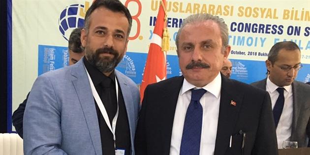 Türk-Bir Başkanı Arıklı Makedonya'da sempozyuma katılıyor