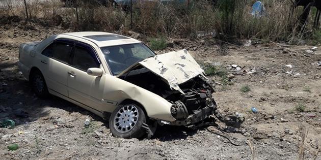 Lefkoşa-Gazimağusa anayolunda kaza