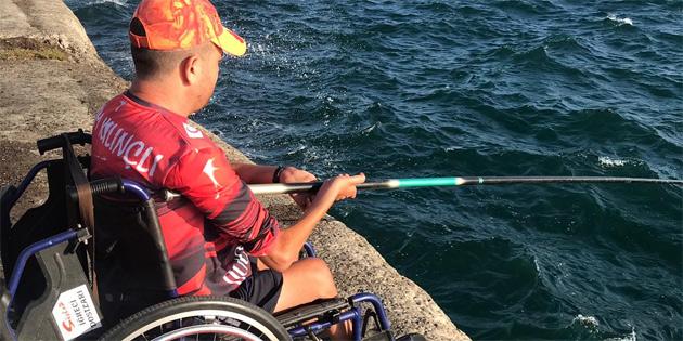 IV. Engelsiz Balık Avı Şenliği hafta sonu Mağusa Limanı'nda gerçekleştirildi