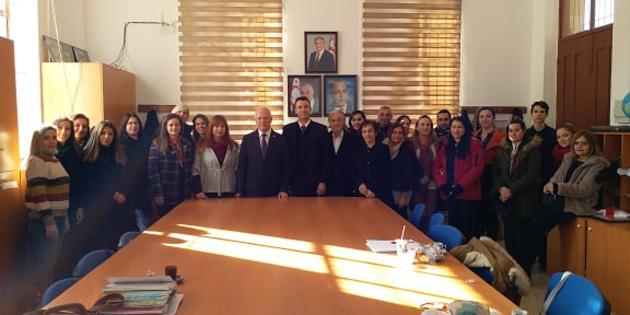 Meclis Başkan Yardımcısı Töre Alayköy'ü ziyaret etti