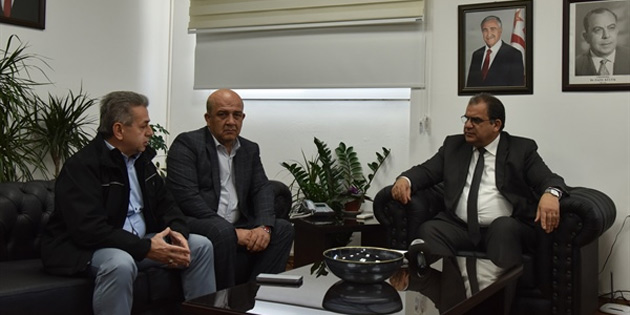 Çalışma Bakanı Sucuoğlu iyi toplum gönüllüleri derneğini kabul etti