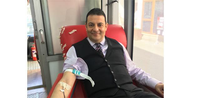 KAÜ'den Zeytin dalı harekâtı'na kan bağışı ile destek