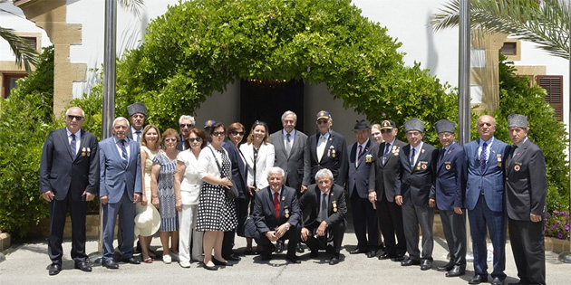 Cumhurbaşkanı Akıncı, emekli TSK mensupları ve ailelerini kabul etti