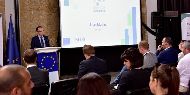 """3 milyon Euro değerindeki """"İnovatif Girişimcilik ve Diyalog"""" projesi'nin başlangıcı Bandabuliya sahnesindeki etkinlikle duyuruldu"""