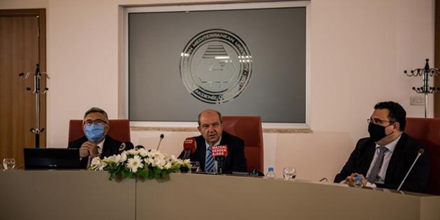 """Başbakan Tatar: """"Üniversitelerde yüz yüze eğitimi sağlayacak şartlar üzerinde titizlikle çalışıyoruz"""""""