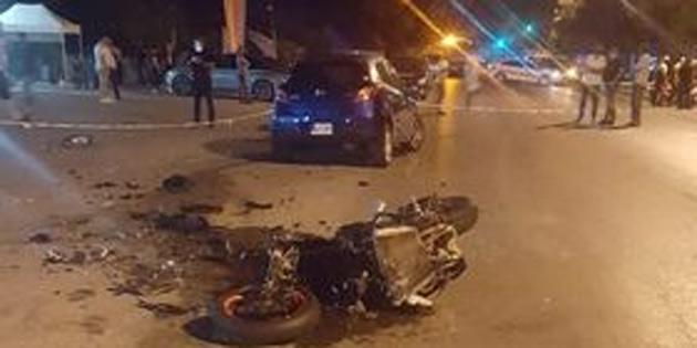 Girne'de ölümlü kaza