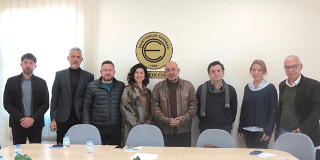 Üçüncü Toplum Forumu KTOEÖS'i ziyaret etti