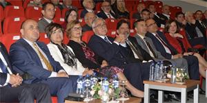 Cumhurbaşkanı Akıncı, eşi Meral Akıncı ile Ahmet Sami Topcan'ın hayatını konu alan belgeselin gösterimine katıldı