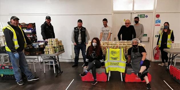 İngiltere'deki Kıbrıs Türk Toplum Birliği'nden koronavirüs yardımları