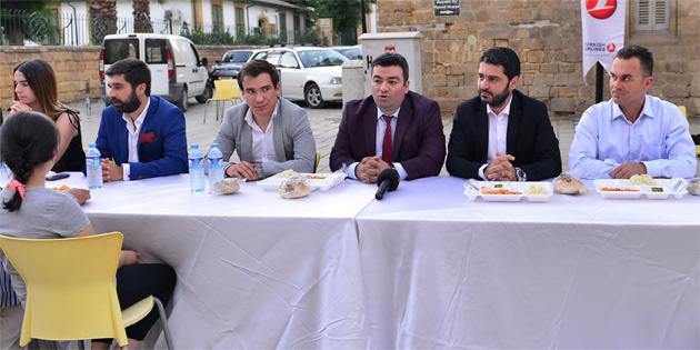THY Kıbrıs Müdürlüğü iftar yemeği verdi