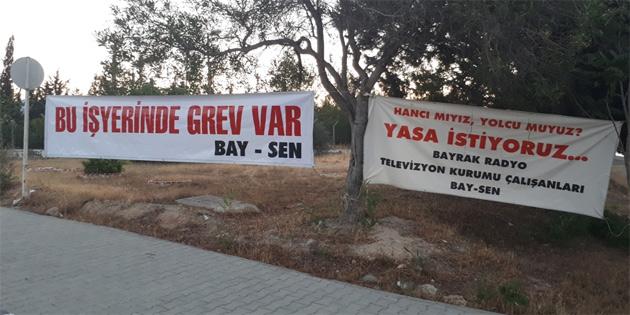 Bay-Sen bu sabah BRT'de grev başlattı