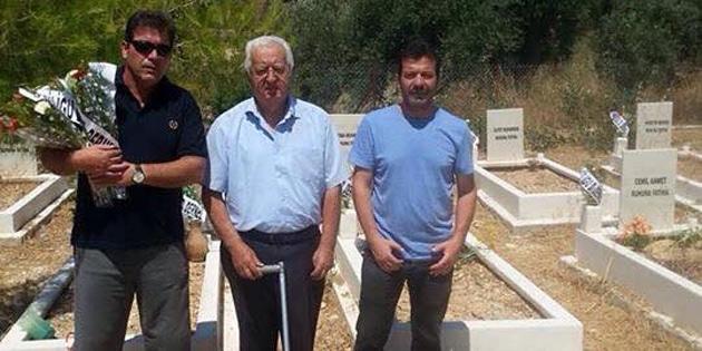 Siligulular Derneği, köydeki Kıbrıs Türk mezarlığını ziyaret etti