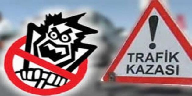 67 trafik kazası 2 ölü 22 yaralı