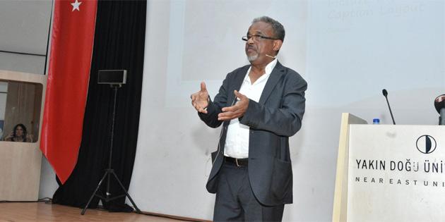 Nobel ödüllü araştırmalar yürüten Ahmed iklim değişikliği ile ilgili konferans verdi