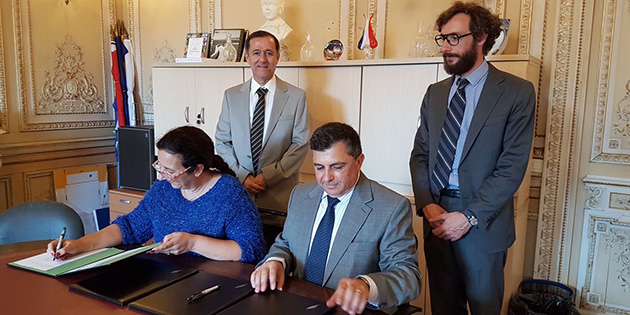 DA� ile Nice Sophia Antipolis �niversitesi aras�nda i�birli�i protokol� imzaland�