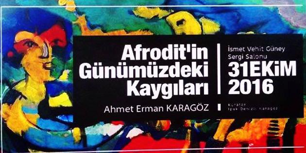 Ahmet Erman Karag�z'�n 1. ki�isel sergisi 31 Ekimde ziyarete a��lacak