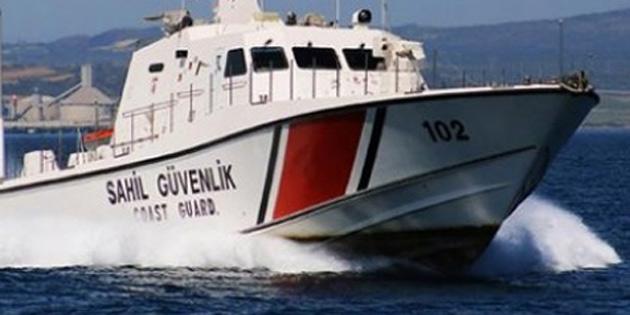 Denizde kaybolan 60 yaşındaki yüzücüyü sahil güvenlik kurtardı