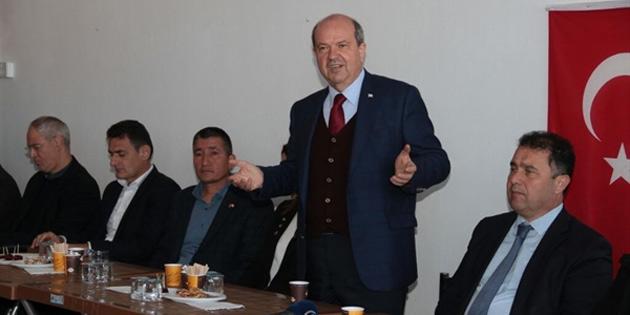 Başbakan Tatar, Gazimağusa Piyale Paşa Muhtarlık Binasnın açılışına katıldı
