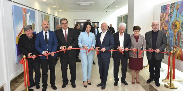YDÜ'de 4 sergi daha açıldı