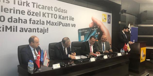 KTTO ile İş Bankası arasında kredi kartı protokolü
