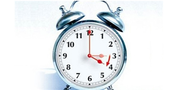 Yaz saati uygulaması Pazar günü başlıyor