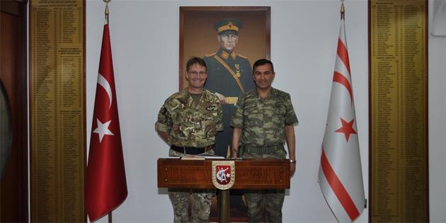 Tümgeneral Illingworth, GKK'yı ziyaret etti