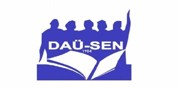 DAÜ-SEN'den güzellik yarışması açıklaması