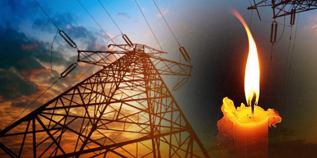Girne bölgesinde 5 saatlik elektrik kesintisi