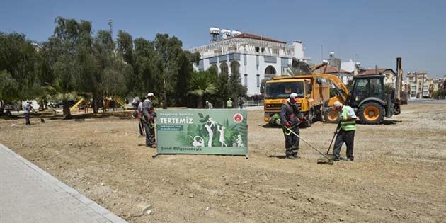 Gönyeli'de kapsamlı temizlik kampanyası başladı