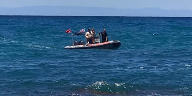 Alagadi'de denize kaybolan 27 yaşındaki Ceyhan'ı arama çalışmaları 4'üncü gününde