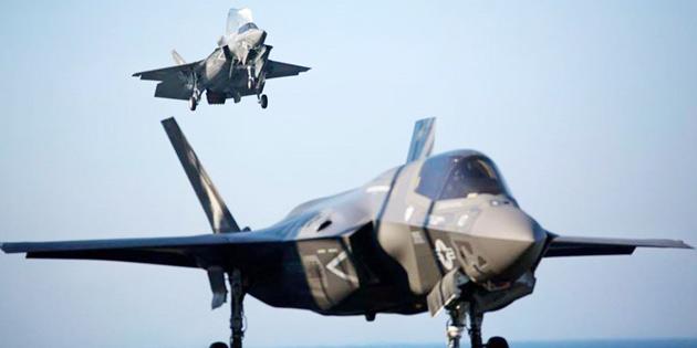 KIBRIS'TAKİ F-35B'LERİ İLK KEZ DENEDİ