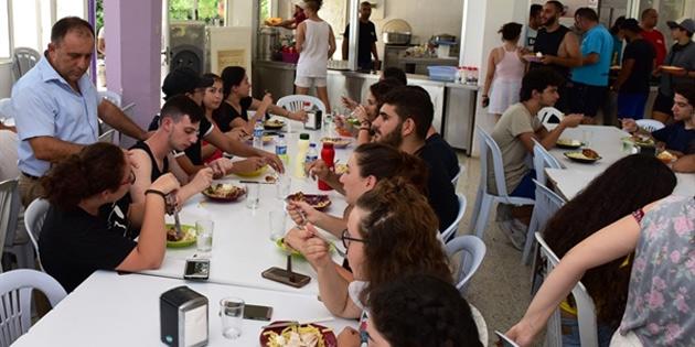 Gençlik Dairesi Kantara Yaz Kampı devam ediyor